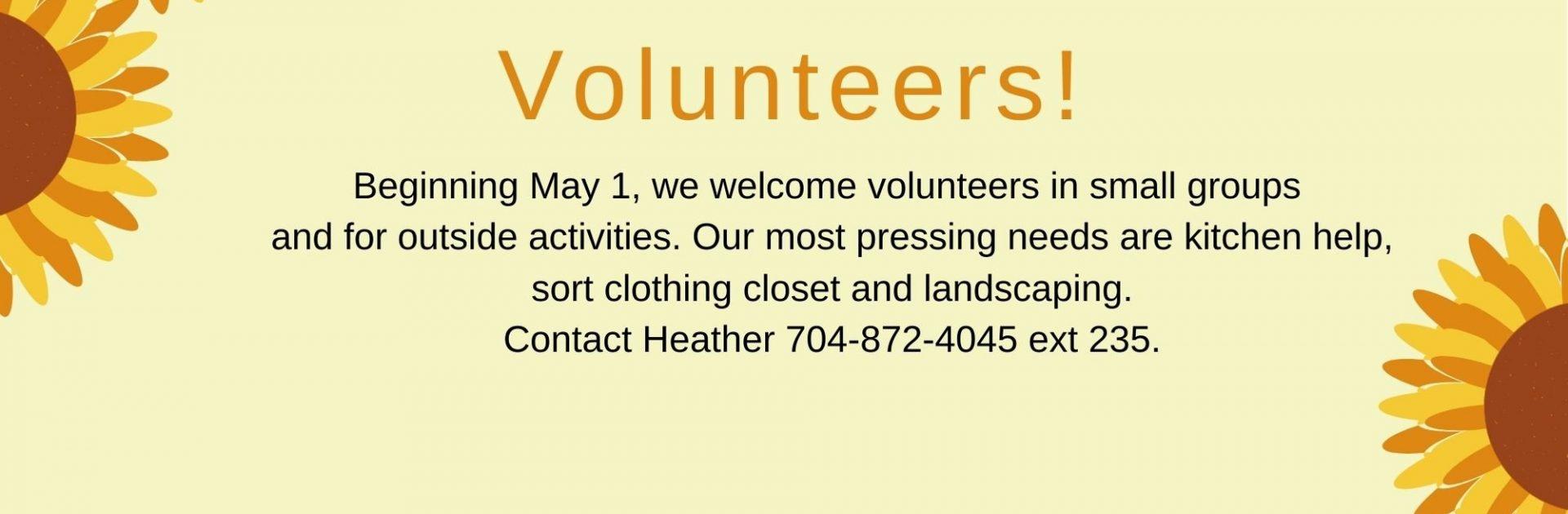 4.2021 Coming Soon Volunteers FINAL